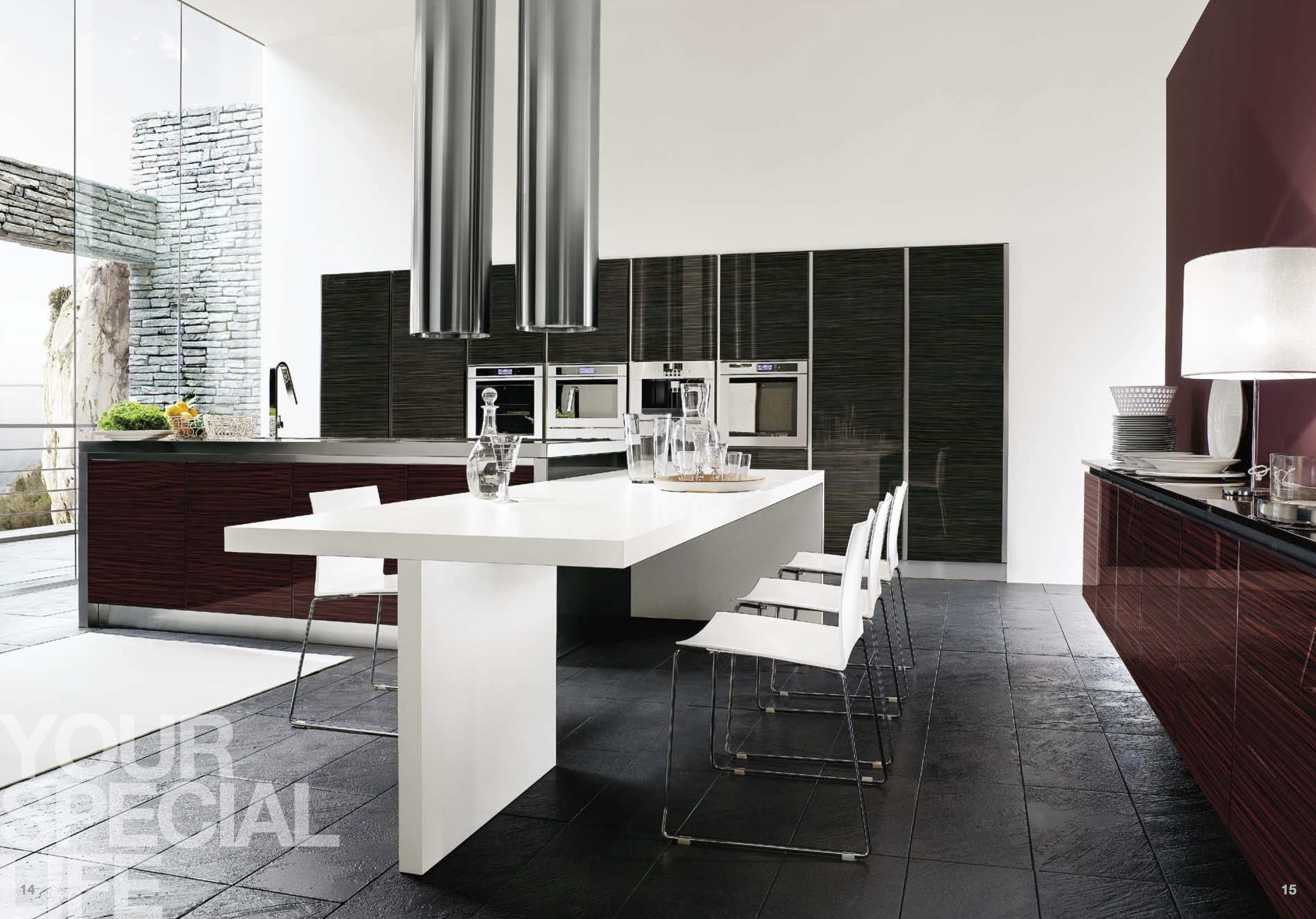 Modern kitchens visionary kitchens custom cabinetry for Modern kitchen
